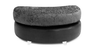 Aviana Half Moon Footstool
