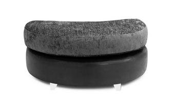 Half Moon Footstool Carrara