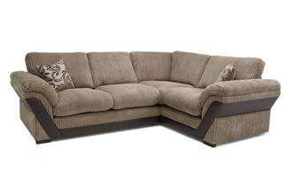 Formal Back Left Hand Facing 2 Seater Corner Sofa Inception