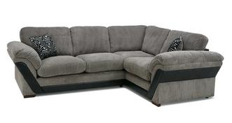 Barney Formal Back Left Hand Facing 2 Seater Corner Sofa