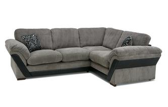 Formal Back Left Hand Facing 2 Seater Corner Sofa Roxy