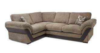Barney Formal Back Right Hand Facing 2 Seater Corner Sofa
