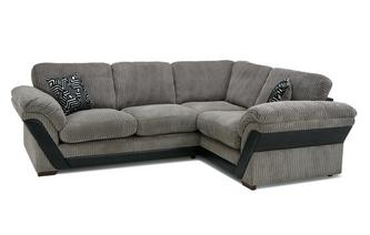 Formal Back Left Hand Facing Deluxe Corner Sofa Bed Roxy
