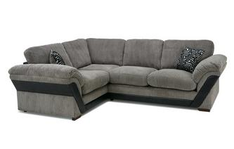 Formal Back Right Hand Facing Deluxe Corner Sofa Bed Roxy