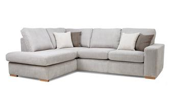 Right Hand Facing Arm Open End Corner Sofa