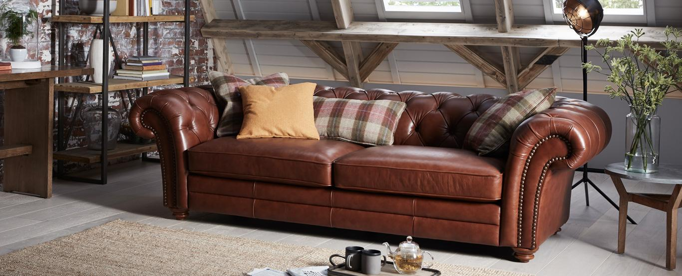 Beckford Chesterfield Sofa