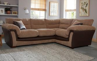 Bedale Left Hand Facing Arm 2 Piece Corner Sofa Samson