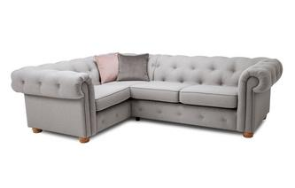 Right Hand Facing Arm 2 Seater Corner Sofa