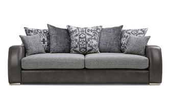 Pillow Back 4 Seater Sofa Belmont