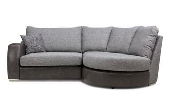 Formal Back Left Hand Facing 2 Seater Chaise End Sofa Belmont