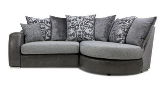 Belmont Pillow Back Left Hand Facing 2 Seater Chaise End Sofa