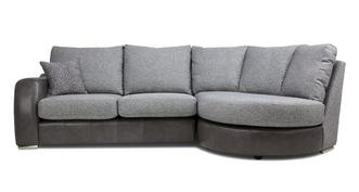 Belmont Formal Back Left Hand Facing 3 Seater Chaise End Sofa