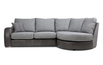 Formal Back Left Hand Facing 3 Seater Chaise End Sofa Belmont