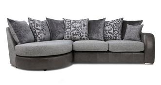 Belmont Pillow Back Right Hand Facing 3 Seater Chaise End Sofa