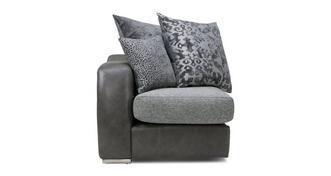Belmont Pillow Back Left Hand Facing Arm 1 Seat Unit
