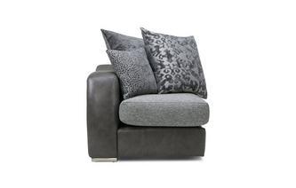 Pillow Back Left Hand Facing Arm 1 Seat Unit Belmont
