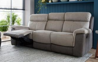 Bingley 3 Seater Manual Recliner Arizona