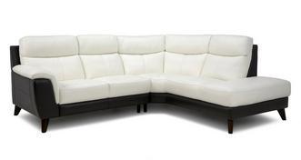 Blaine Option A Left Hand Facing Arm 2 Piece Corner Sofa