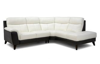 Option A Left Hand Facing Arm 2 Piece Corner Sofa Essential