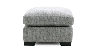 Bohemian Square Footstool