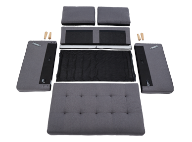 Boxsit Sofa Easy Assembly