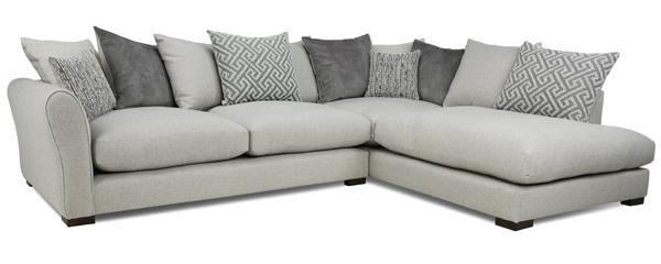 Alessio corner group sofa, left hand facing