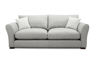 Formal Back Large Sofa