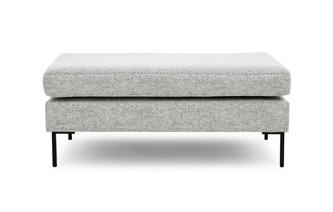 Pattern Top Bench Footstool