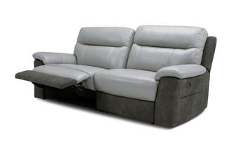 3 Seater Power Plus Recliner Bacio Vellutato