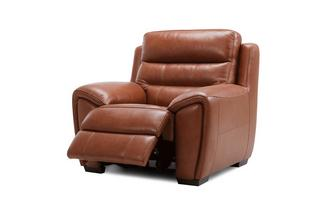 Brogan Power Plus Recliner Chair Brazil with Leather Look Fabric