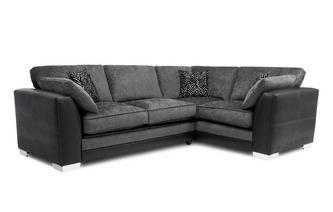 Formal Back Left Hand Facing Supreme Corner Sofa Bed