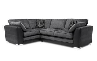 Formal Back Right Hand Facing Supreme Corner Sofa Bed