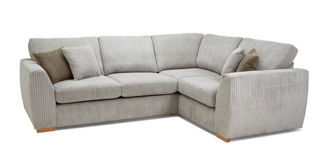 best cheap e4712 91b31 Bruno: Left Hand Facing 2 Seater Corner Sofa