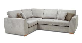 Bruno Right Hand Facing 2 Seater Corner Sofa