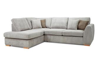 Right Hand Facing Arm Open End Deluxe Sofabed Corner Sofa Marley