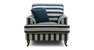 Burnham Harbour-Coastal-Stripe Armchair