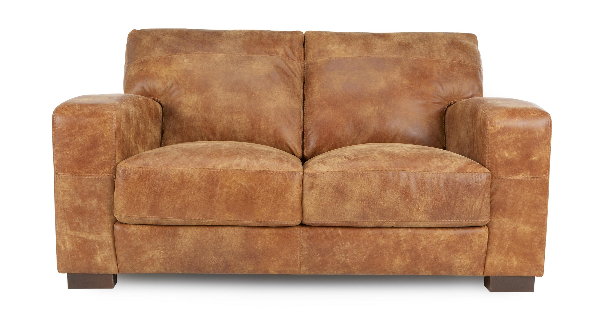 Dfs Tan Leather Couch Seat Stool
