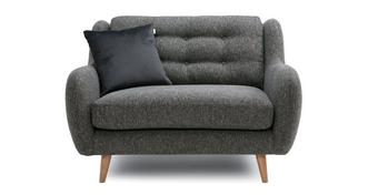 Camden Plain Cuddler Sofa