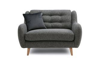 Plain Cuddler Sofa