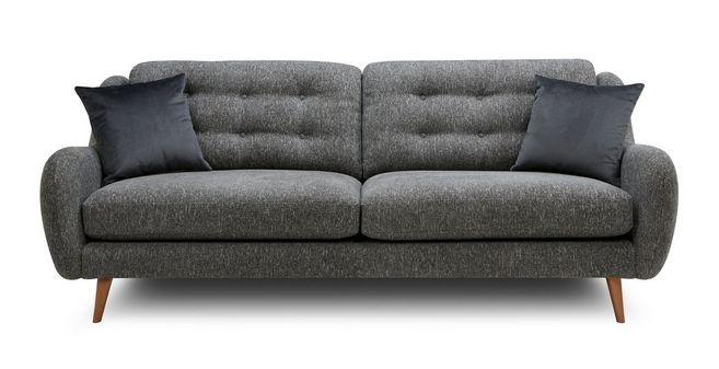 Camden: Plain 4 Seater Sofa