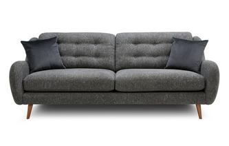 Plain 4 Seater Sofa Camden Plain