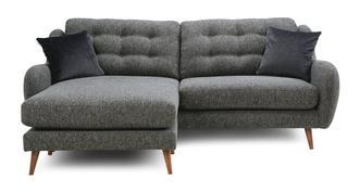 Camden Plain 4 Seater Lounger Sofa