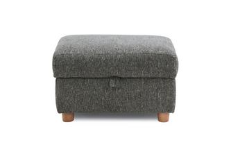 Plain Storage Footstool Camden Plain