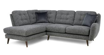 Camden Plain Right Hand Facing Arm Open End Corner Sofa
