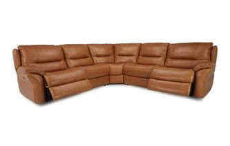 Option C 2 Corner 2 Power Double Recliner Sofa Palatial