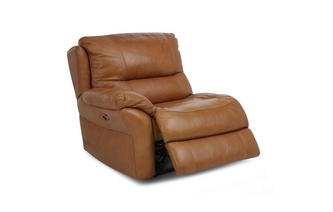 Left Hand Facing Arm 1 Seater Power Recliner Unit Palatial