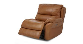 Carmello Right Hand Facing Arm 1 Seater Power Recliner Unit