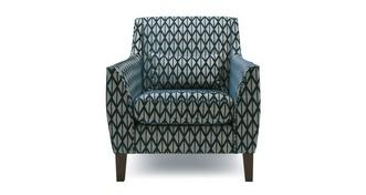 Carmen Pattern Accent Chair