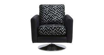 Carrara Pattern Swivel Chair