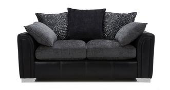 Carrara 2 Seater Pillow Back Supreme Sofa Bed